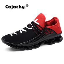 Cajacky New Sneakers Men Summer Breathable Mesh Trainers Increasing Unisex Zapatos Hombre Lightweight Krasovki Plus Size 11 10.5