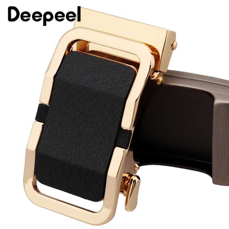 Deepeel 1Pc Fashion Men Belt Buckle Metal Automatic Buckle For Belt 34-35mm Belt DIY Leather Craft Men Apparel Accessories YK115