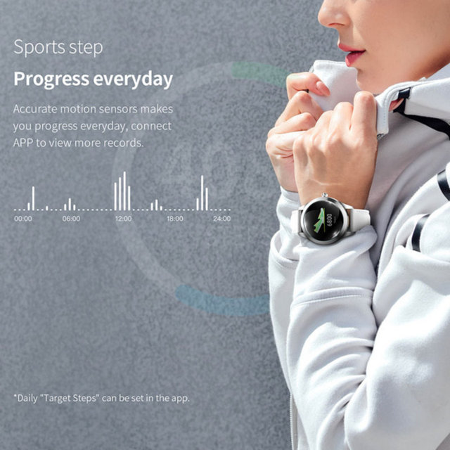 KW10 Smart Watch Women 2018 IP68 Waterproof Heart Rate Monitoring Bluetooth For Android IOS Fitness Bracelet Smartwatch
