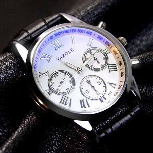 YAZOLE Wrristwatch Wrist Watch Men 2018 Top Brand Luxury Famous Male Clock Quartz Watch Man Hodinky Relogio Masculino Ceasuri