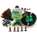 DIY Micro Drip Irrigation System Automatic Self Watering Garden Plant  Hose Kits Including Water Timer 20M Hose 46 x Connectors