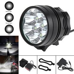 Sprzedaż SecurityIng 3500 lm 7 x LB-XL T6 LED jasny rower światło + 8000mAh akumulator