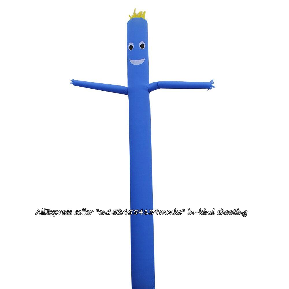 Air Dancer Sky Dancer Inflatable Tube Sky Puppet Man Puppet 20FT 6M For 45CM Blower (Blue)
