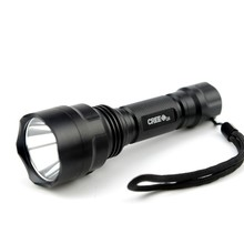 Waterproof LED font b hunting b font Camping Hiking Flashlight Torch High Power Cree Led Torch