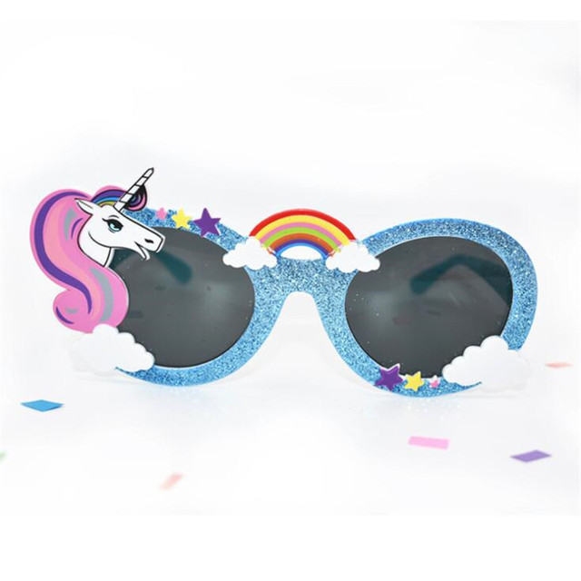 Модные очки единорог Star Love 2