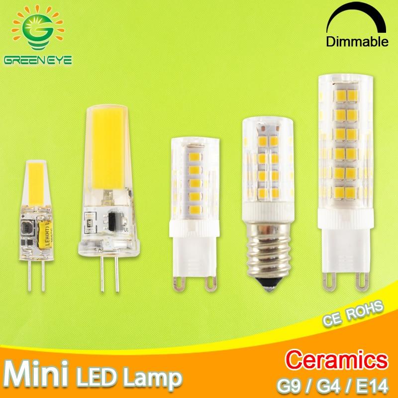 G9 G4 LED Ampoule 2W 3W 5W 6W 8W 9W 10W 12V 220V Dimmable SMD Remplacer Halogène