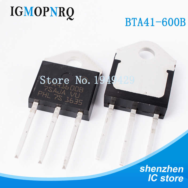5PCS/lot BTA41-600B TO-3P BTA41-600 BTA41600B Triac 40 Amp 600 Volt New original