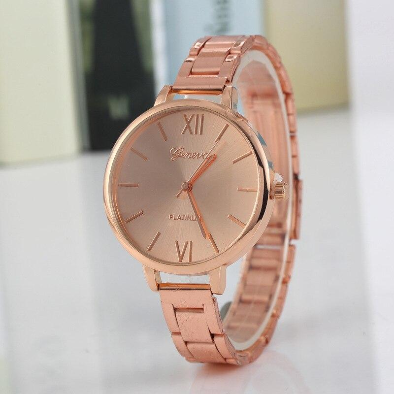 2018 Lady Woman Wrist Watches High Quality Ladies Watches montre femme Geneva Quartz Watch Women Clock reloj mujer Elegant