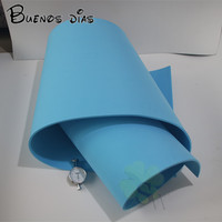 6mm thickness sky blue color Eva foam sheet,cosplay children school handmade material Size 50cm*200cm