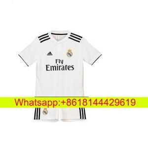 c81629262dc 18 19 Real Madrid soccer jersey RONALDO BALE KROOS SERGIO RAMOS MODRIC ISCO  NAVAS ASENSIO MARCELO woman football shirts
