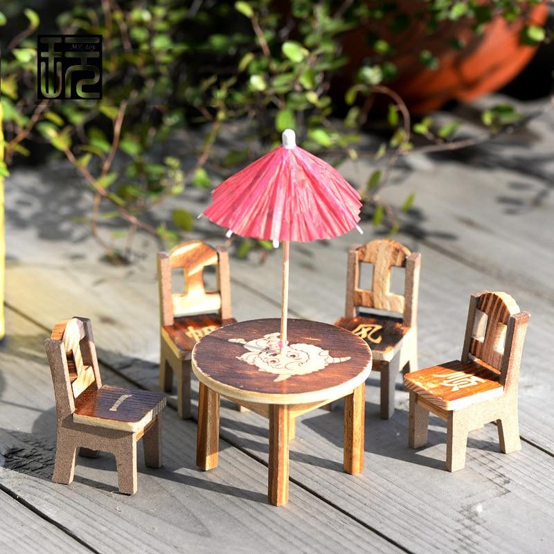 5pcs set Desk Chair Model Mini Simulation Fairy Garden Miniatures DIY Doll  House  Terrarium   Micro Moss Landscape Decoration in Figurines    Miniatures from. 5pcs set Desk Chair Model Mini Simulation Fairy Garden Miniatures