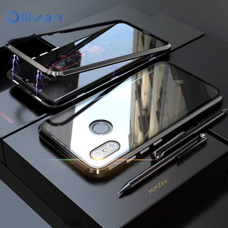 Hangrui Luxury Tempered Glass Case For
