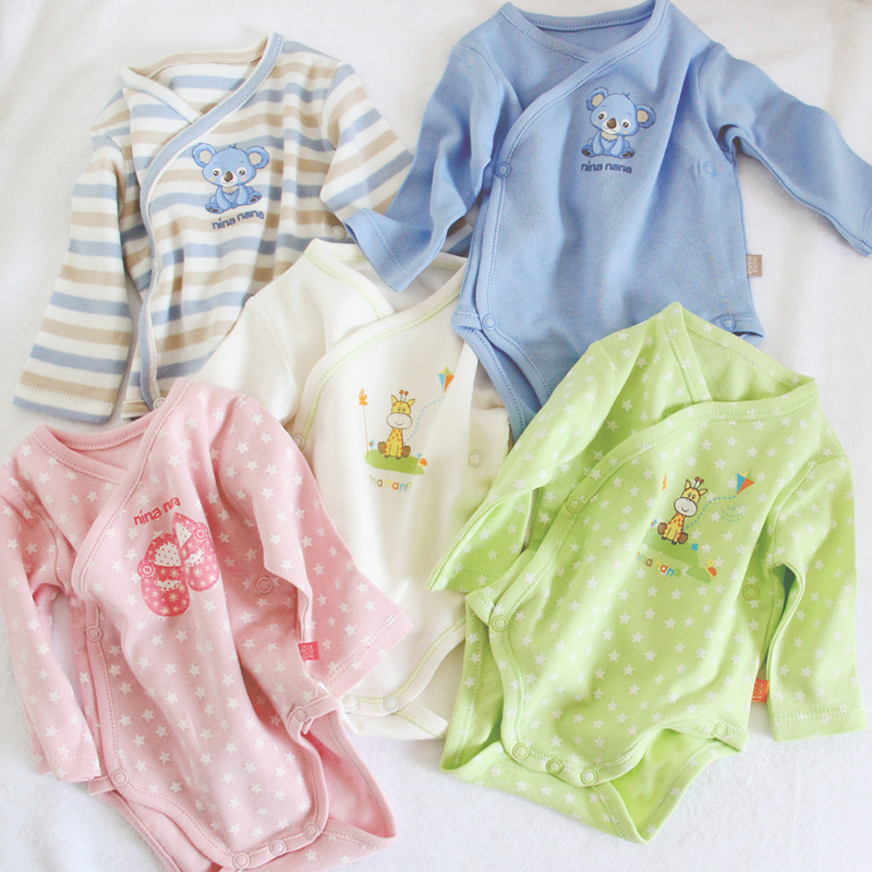 Baby Clothes Baby Bodysuit Baby Newborn Long Sleeves Baby Pyjamas Kids Clothes Children Clothing 100% Cotton Clothes