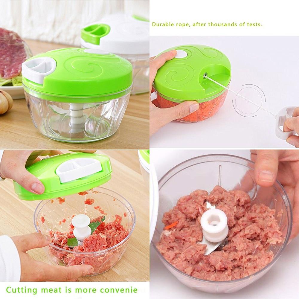 HTB1fAjQvBsmBKNjSZFFq6AT9VXai Manual Food Chopper Pull String Vegetable Chopper Fruits Nuts Onions Chopper, Hand Pull Mincer Blender Mixer Food Processor