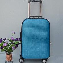 YISHIDUN Schöne 13 zoll kosmetiktasche 20 16 zoll mädchen studenten trolley reisegepäck Taschen frau roll reise-koffer