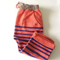 New Spring Summer Bobo Choses Knitting Knee Length Pants For Girl Boy Children Capris Baby Clothes