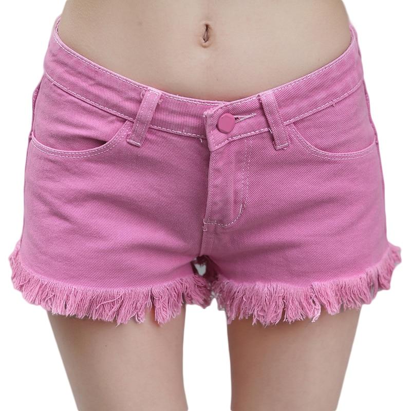Popular Pink Jean Shorts-Buy Cheap Pink Jean Shorts lots from ...