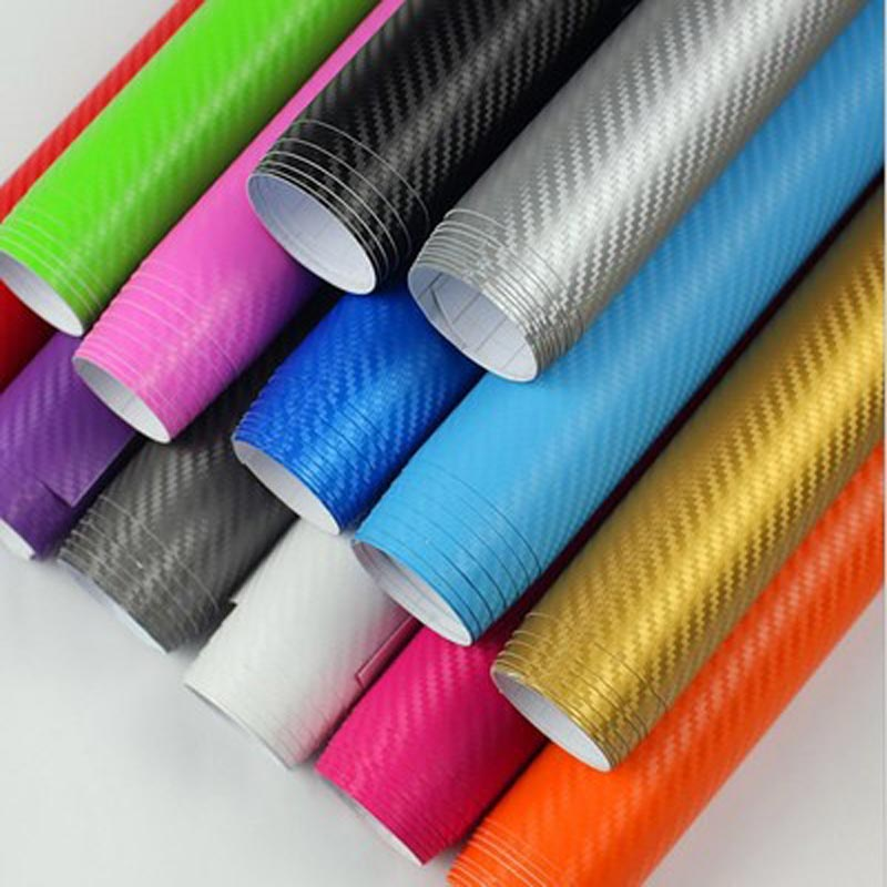 127*30cm car carbon fiber stickers car color change styling car paste interior body car stickers 3Dcolor change film auto parts car styling 3d car sticker auto body tank chain stickers decals vinyl wrap change color film car covers for smart