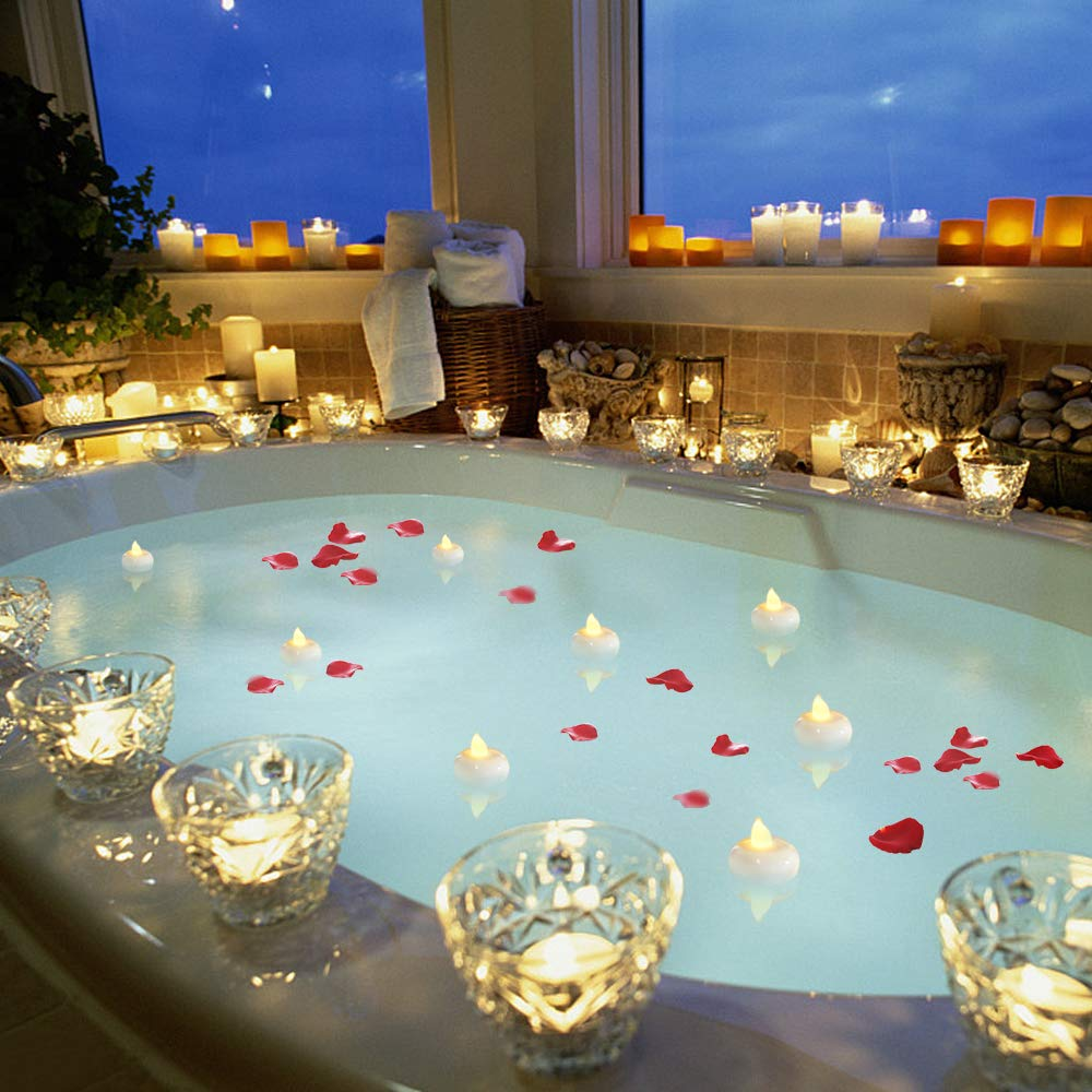 LED Floating Flameless Candles