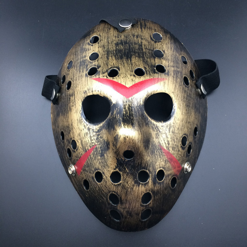 Or 1PCS vintage Jason Voorhees Freddy Hockey Festival Halloween Masquerade