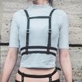 Cosplay harajuku mujeres correas de liga sexy cintura de cuero hombro diseñadores cinturón arnés para regalos de año nuevo