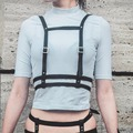 cosplay harajuku women belts suspender sexy leather waist shoulder designers belt harness for new year gifts
