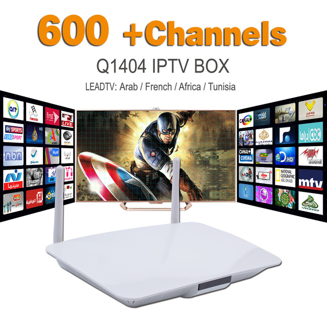 Android IPTV Box French Arabic IPTV Set Top Box VIP Sports Sky IT UK DE European 600+ HD Abonnement Live TV French APK Included