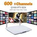 Android IPTV Caja Francés Árabe IPTV Set Top Box VIP Deportes Cielo el MISMO REINO UNIDO DE Abonnement Europeo 600 + HD TV En Vivo APK Francés Incluido