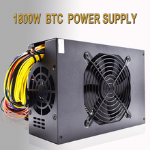 SENLIFANG ETH ZCASH LIANLI 1800 W BTC MINERO de Oro POTENCIA 1800 W fuente de alimentación para R9 380 RX 470 RX480 6 GPU TARJETAS envío libre de DHL