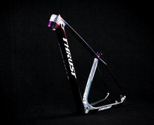 Image 2 - דחף אופניים פחמן מסגרת אופני mtb מסגרת 29er 27.5er 15 17 19 BSA BB30 מחודד הרי אופני מסגרת 2 שנה אחריות 8 צבעים