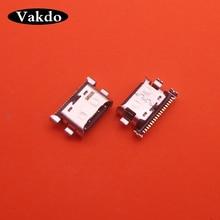 200 개/몫 충전기 마이크로 USB 충전 포트 독 커넥터 소켓 삼성 갤럭시 A70 A60 A50 A40 A30 A20 A405 A305 A505 A705