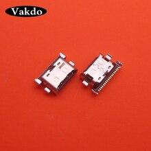 200 pçs/lote Carregador Micro USB Tomada de Carregamento Porto Dock Connector Para Samsung Galaxy A70 A60 A50 A40 A30 A20 A405 A305 A505 A705