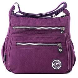Bolso Kiplebolsa feminina Women Shoulder Bag Casual lolita NylonBag Shoulder Messenger Multilayer Bags WomenBag Bolsos saca main