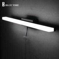 Bathroom Mirror Front Light Modern led Wall Light Wandlamp AC110V 220V Sconce LED Wall Lamp For Bathroom Lamp 40 60 80 100 120CM