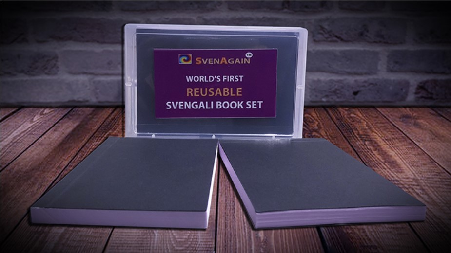 SvenAgain Reusable Svengali Pad Set By Sven Lee - Magic Tricks,Mentalism Magic,Illusions,Gimmick,Magician Magia Pads Close Up
