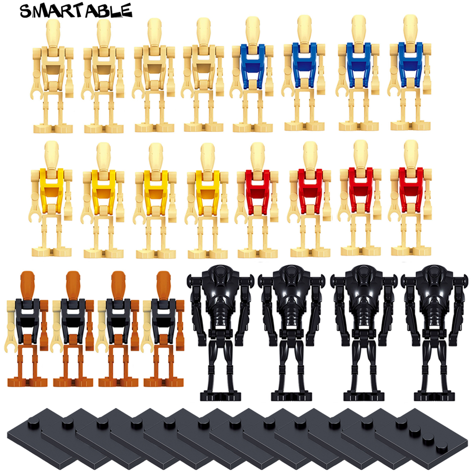 smartable-24pcs-battle-droid-building-blocks-figure-toys-compatible-legoing-font-b-starwars-b-font-brick-toy-with-12pcs-baseplate-for-gift