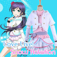 الحب لايف نوزومي توجو تأثيري بهر البصر الثلوج شتاء أبيض جميل اللباس تأثيري حلي للبالغين نساء بنات زائد الحجم