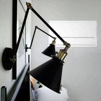 Industriale Dell'annata Lampade Da Parete louis Poulsen luce E27 placcato scone Loft american retro vintage lampada da parete in ferro