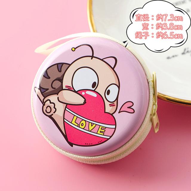 1pieces  Purses creative cute cartoon coin wallet key chain girl PU leather shell whale squid zipper change wallet card clip