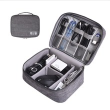 Universal Electronics Accessories Organizer/Travel Gadget Bag for Cables, Memory
