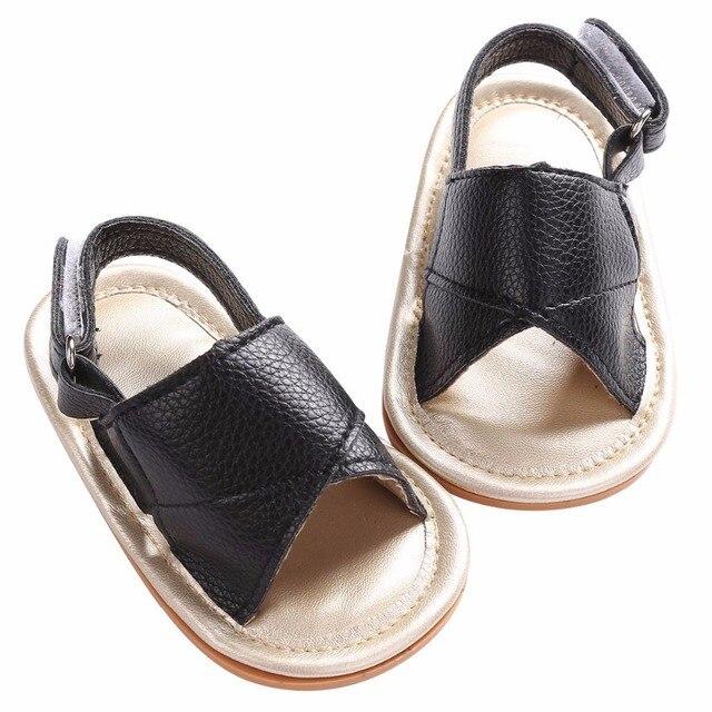108a2f5252a15 2016 Mode Doux Sole Nouveau-Né Premiers Marcheurs Baptême Baptême Bébé  Chaussures