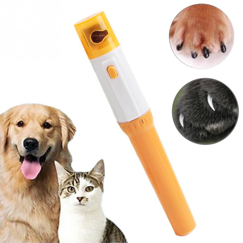 Pet Supplies Electric Pet Dog Cat Puppy Claw Toe Nail Pedicure Grinder Clipper Trimmer Tool Care Tools Pedicure