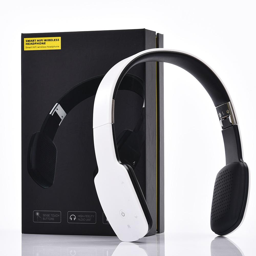 Über Ohr Drahtlose Bluetooth 4,1 Stereo Headset Sport Kopfhörer Faltbare HIFI Musik Kopfhörer Mit Mic