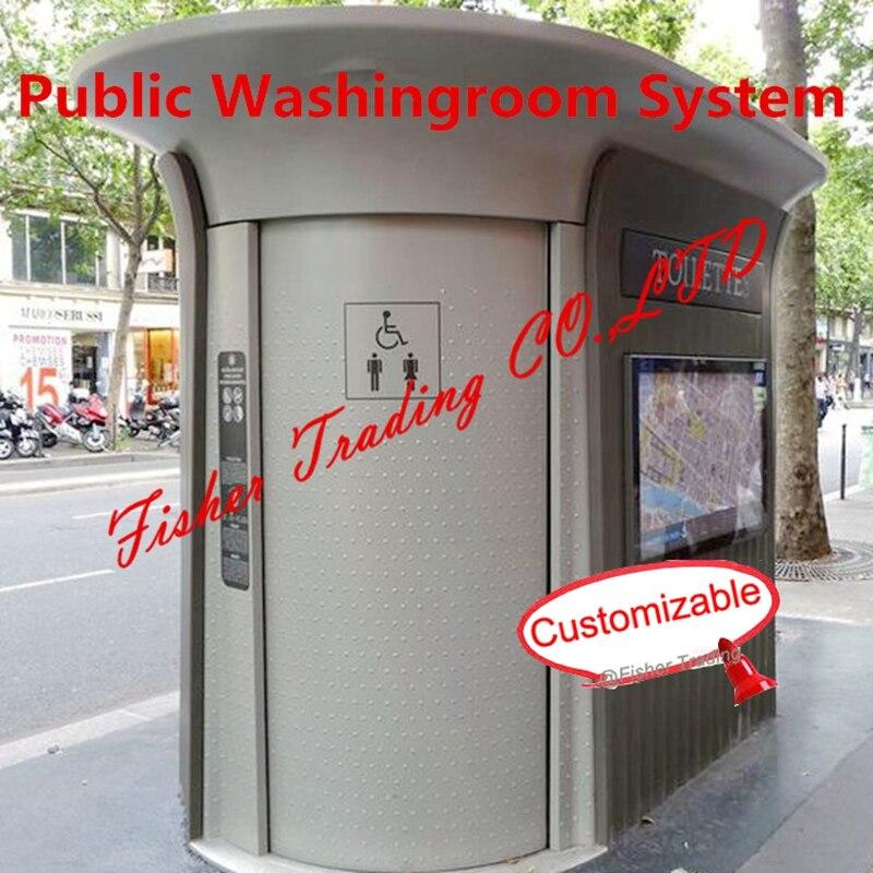Salle de lavage publique/toilettes/système de toilette, système de toilette mobile/portable, salle de lavage automatique/système de toilettes