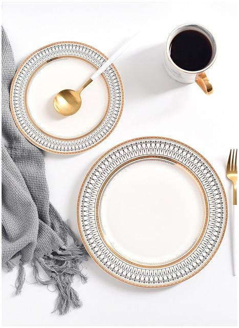 HTB1fAnZLgHqK1RjSZFkq6x.WFXap.jpg 640x640 - dinnerware - Nordic Ceramic Luxury Wedding Plates