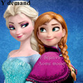 Synthetic Cosplay hair long Curly hair wigs Snow(Adult and children aged 5-12 years ) Queen Anna Elsa Long Anime Wigs.