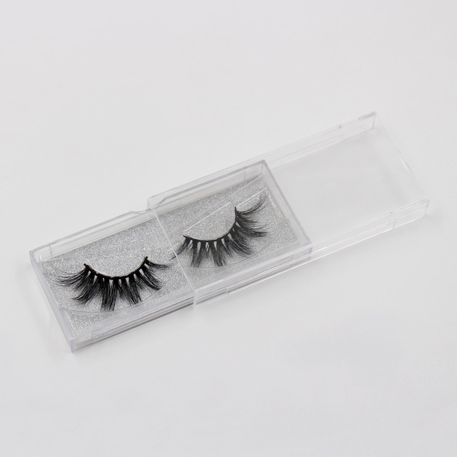 LEHUAMAO Eyelashes 3D Mink Eyelashes Criss-cross Strands Cruelty Free High Volume Mink Lashes Soft Dramatic Eye lashes E1 Makeup 5