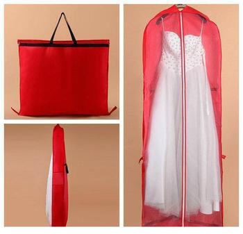 Red Wedding Dress Dust Garment Thickening Cover Storage red dust novel