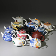 200ml 240ml 300ml Purple Sand Teapot Household Ceramics Kung Fu Tea Set Porcelain pot G