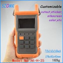 4 stücke viel, schreibtisch top abs gehäuse 178*92*43mm7. 01*3,62*1,69 zoll kunststoff gehäuse für elektronik electro schocker